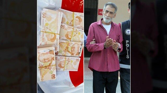 Bagajında sahte paralar bulunan adam çantadaki banknotlardan haberi olmadığını iddia etti.