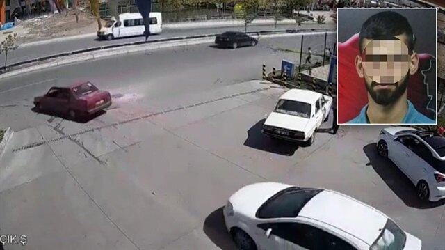 Ehliyetsiz olarak kullandığı araçla 10 yaşındaki çocuğa çarpan sürücü olay yerinden kaçtı.