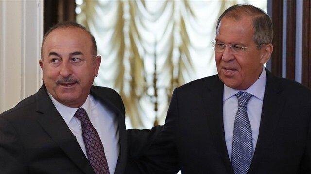 Bakan Çavuşoğlu ve Lavrov ortak basın toplantısı düzenledi