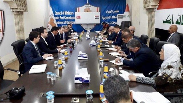 Türkiye'nin Bağdat Büyükelçisi Fatih Yıldız ve Iraklı yetkililer, Ovaköy sınır kapısını görüşmek üzere bir araya geldi.