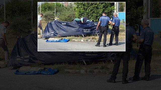 Çekya uyruklu kadının cansız bedeni yapılan incelemenin ardından morga kaldırıldı.