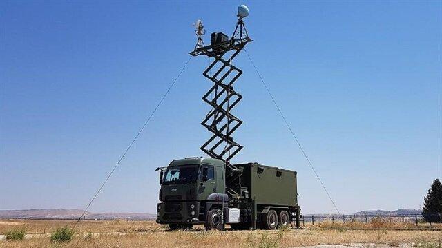 İHA/SİHA'ların komuta edildiği yer kontrol istasyonu bir kamyon üzerine konumlandırarak mobil hale getirildi.