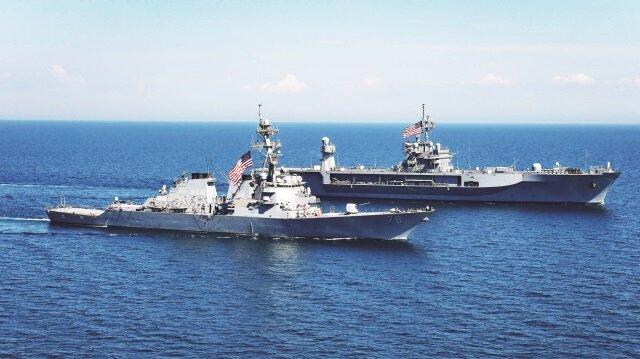 Hem sondaj hem savaş gemileri