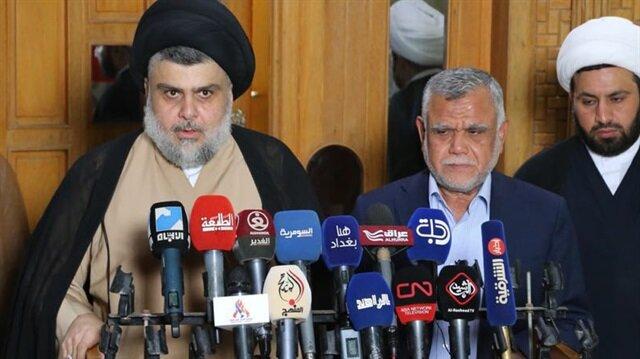 Irak'ta Sadr ve Amiri koalisyon için anlaştı
