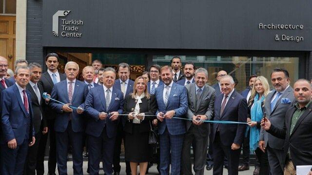 Ticaret Bakanı Ruhsar Pekcan'ın açılışını yaptığı Londra'daki Türk Ticaret Merkezi, 13 firmaya ev sahipliği yapıyor.