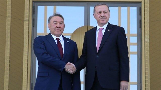 Arşiv: Başkan Recep Tayyip Erdoğan, Kazakistan Cumhurbaşkanı Nursultan Nazarbayev