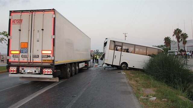 Kazanın ardından bölgeye çok sayıda ambulans ve polis ekibi yönlendirildi. Arşiv.