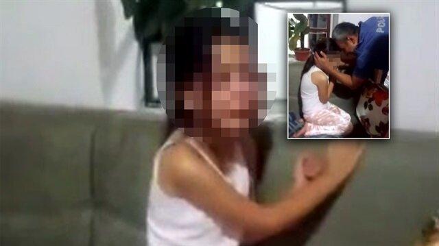 Anne ve babanın velayet sorunu küçük kızı ağlattı
