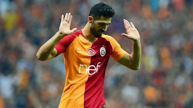 Emre Akbaba, eski takımı Alanyaspor'a karşı iki gol kaydetti.