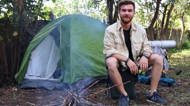İbrahim Karagöz isimli Mersinli üniversite öğrencisi genç 120 günde otostopla 40 il gezdi.