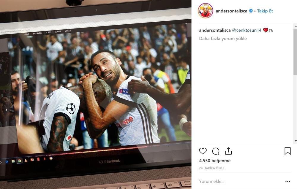 Talisca, Instagram hesabından bu fotoğrafı paylaştı.