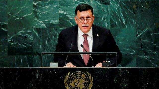 Prime Minister of Libya's unity government Fayez Seraj