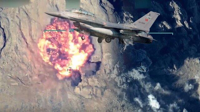 PKK hedefleri hava operasyonları ile imha edildi.