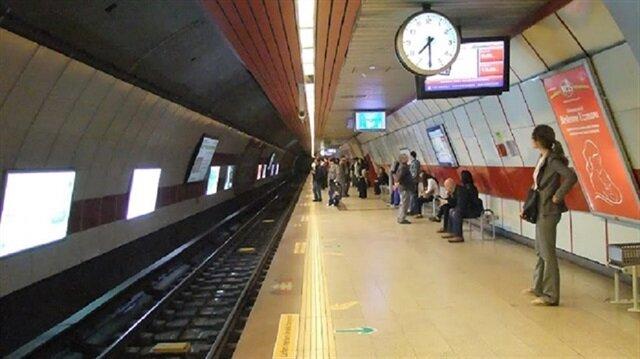 Yenikapı-Hacıosman metro hattında araç arızası