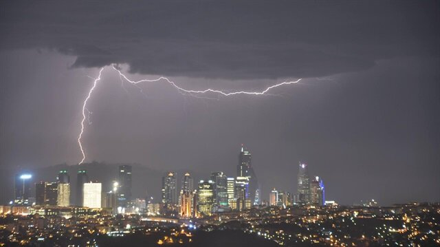 Meteoroloji'den İstanbul için saatli uyarı