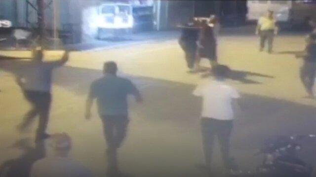 Servis şoförlerinin kavgasında silahlar konuştu
