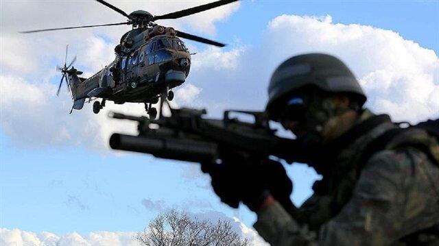 القوات التركية دأبت على استهداف عناصر المنظمات الإرهابية