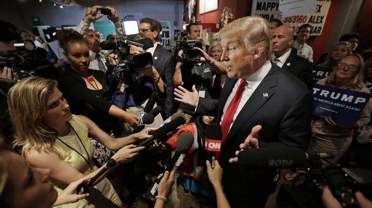 New York Timestan Trumpa: Söylemleriniz yüzünden silahlı koruma tutmak zorunda kaldık 45