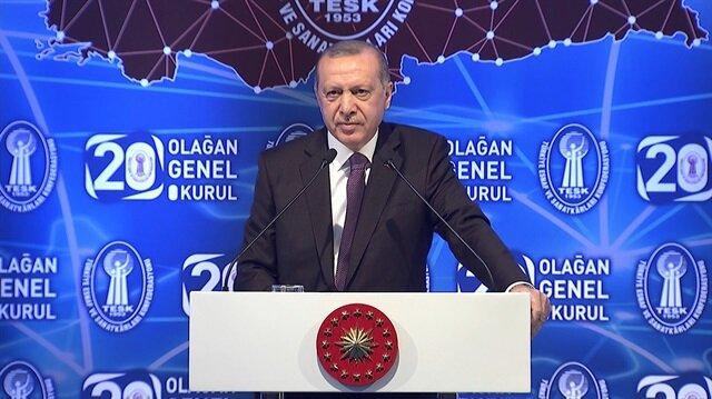 Erdoğan'dan döviz bahanesiyle fırsatçılık yapanlara sert sözler
