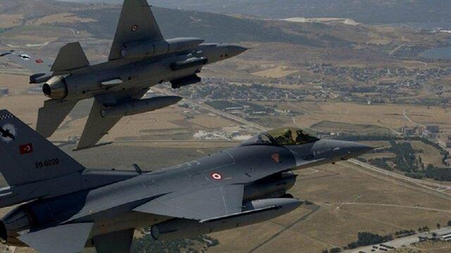 سلاح الجو التركي يحيّد 5 إرهابيين