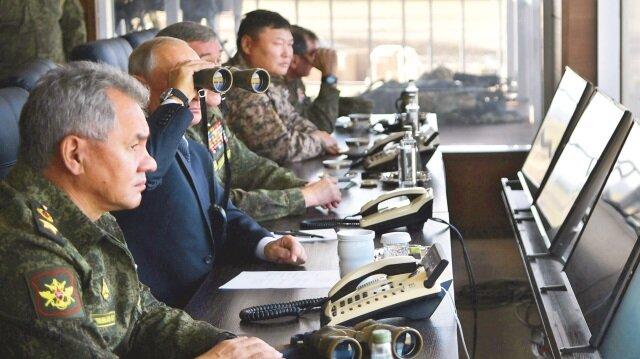 Savaş oyununu Putin yönetti