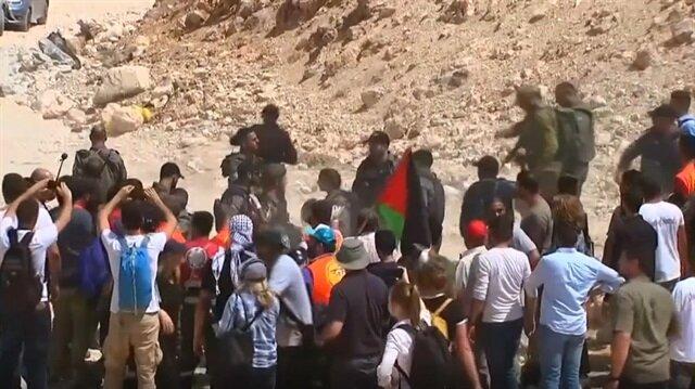 Israeli forces attack Palestinians in West Bank village slated for demolition