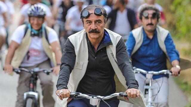 Yılmaz Erdoğan, Van'daki etkinliğe katılarak, Vizontele 3 için kolları sıvadıklarını söyledi.