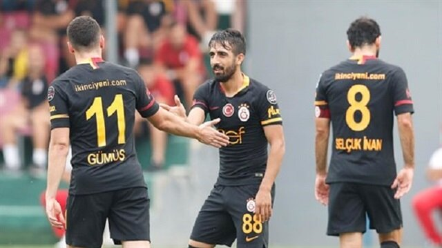 Yeni transfer Muğdat, sarı-kırmızılı formayla 18 dakika süre aldı.