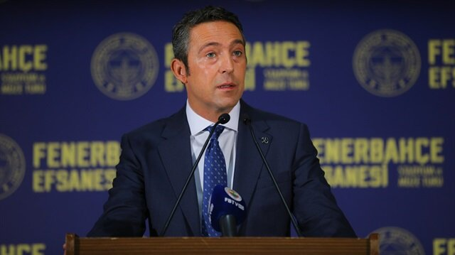 Fenerbahçe Başkanı Ali Koç