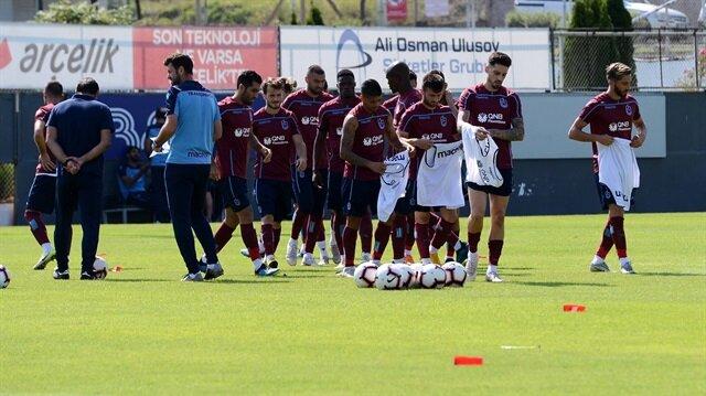 Jose Sosa, Alanyaspor maçı öncesi yapılan antrenmanda yer aldı.