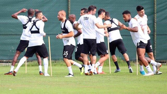Beşiktaş, Yeni Malatyaspor maçı hazırlıklarını sürdürüyor.