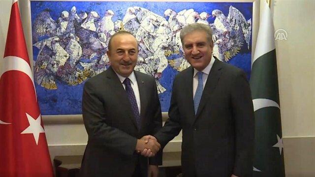 Turkish, Pakistani Foreign Minister meet in Islamabad