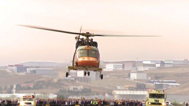 Türkiye helikopter üreten yedinci ülke