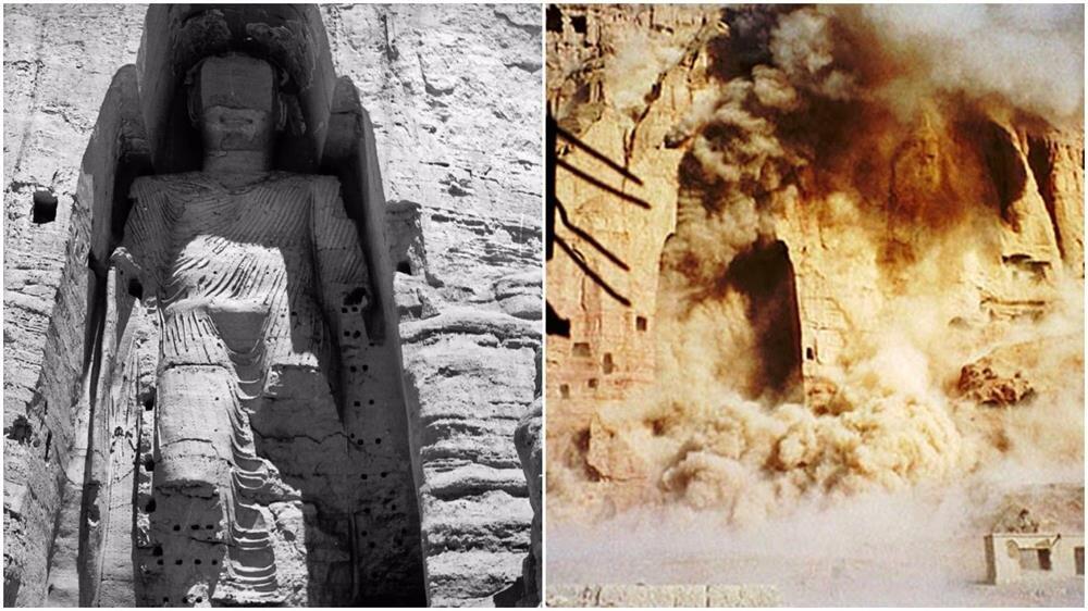 Afganistan'ın orta kesimindeki Bamiyan Vadisi'nde bulunan dev Buda heykelinin 1997'de dinamitle patlatılarak ortadan kaldırılması, Taliban'ın en ses getiren eylemlerinden biriydi.