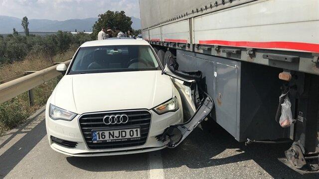 Kazanın ardından araç hasar görürken, Kılıçdaroğlu'nun korumalarının yara almadığı öğrenildi.