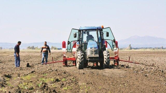 Çiftçilere hazine gibi arsa