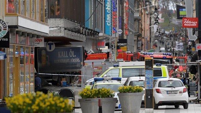 İsveç'te patlama: Terör alarmı verildi