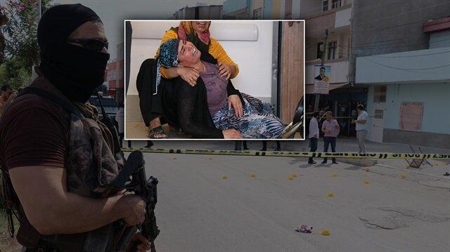 Adana'daki çatışmanın ardından polisler geniş güvenlik önlemi alırken, ölenlerin yakınları sinir krizleri geçirdi.