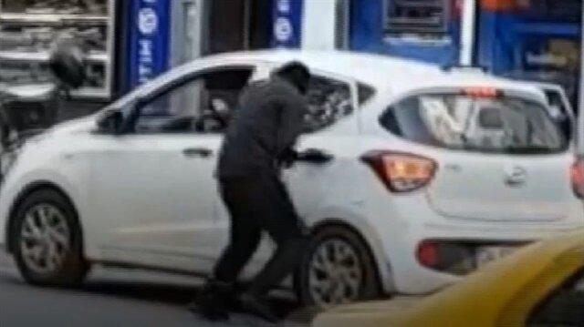 Şişli'de döviz bürosu soyguncuları böyle kaçtı