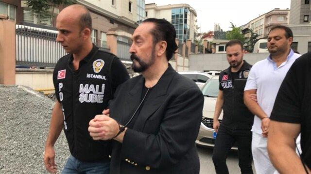 Operasyonla yakalanıp tutuklanan Adnan Oktar