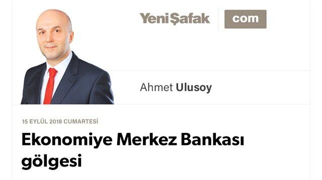 Ekonomiye Merkez Bankası gölgesi