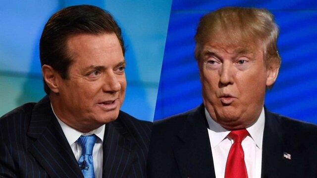 ABD Başkanı Donald Trump'ın kampanya menajeri Paul Manafort
