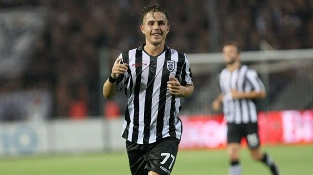 Pelkas, bu sezon PAOK formasıyla çıktığı 7 maçta 1 gol attı.