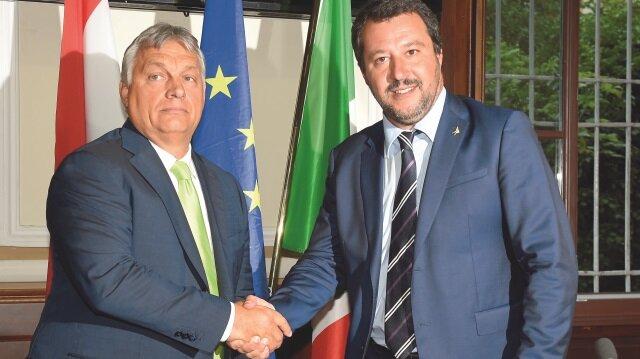 İtalya, Macaristan'a destek verdi.