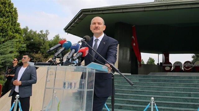 İçişleri Bakanı Süleyman Soylu, Adnan Menderes'i anma programında konuştu.