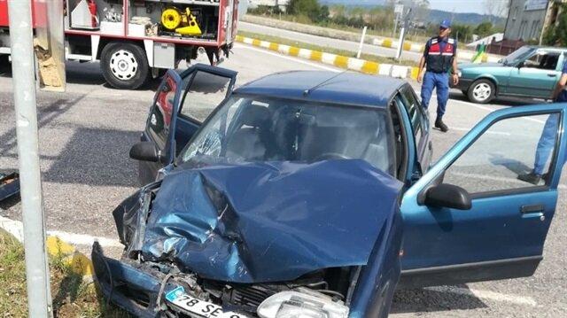 Zonguldak'ta meydana gelen trafik kazasında 7 kişi yaralandı.
