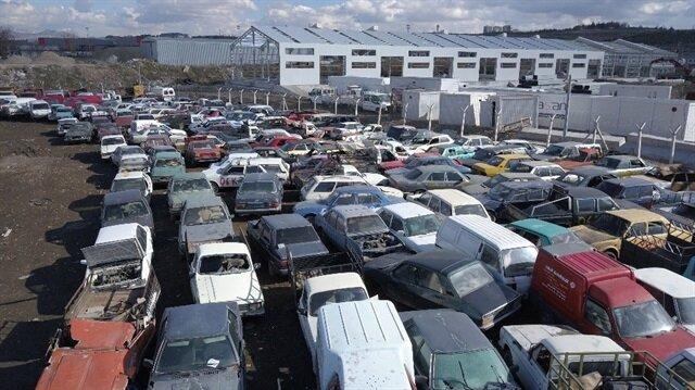 Hurda araçta 'teşvik' trafiği