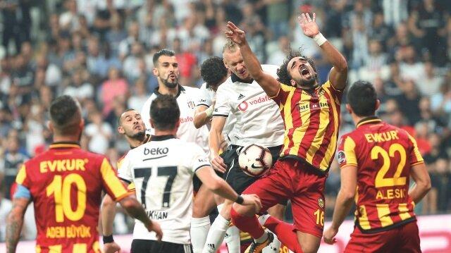 Siyah-beyazlı ekibe galibiyeti getiren golü Pepe ve Babel kaydederken, sarı-kırmızılıların tek sayısı Guilherme'den geldi.