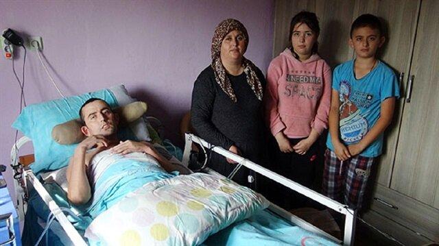 Yaşanan trafik kazası sonrası hayatları alt üst olan Arslan ailesi yardım bekliyor.