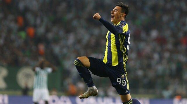 Eljif Elmas, Fenerbahçe formasıyla Süper Lig'deki ilk golünü attı.